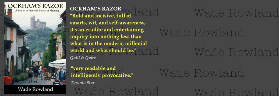 Ockham's Razor: A Season in France in Search of Meaning