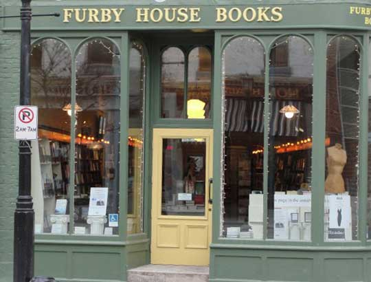 Furby House Books, 65 Walton Street, Port Hope, Ontario
